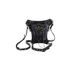 Rock Leather Vintage Gothic Retro Steampunk Skull Shoulder bag(Black) ($83) ❤ liked on Polyvore featuring bags, handbags, shoulder bags, fantasy, steampunk, retro purses, shoulder hand bags, skull handbag, gothic purse and retro style handbags