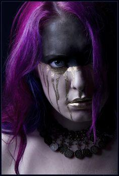 I know, she's not blue, but still, wow.   Unseelie by fetishfaerie-photos.deviantart.com