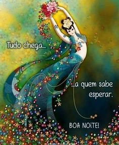 Boa noite Spiritual Transformation, Special Words, Arte Floral, Happy Day, Good Night, Namaste, Disney Characters, Fictional Characters, Spirituality