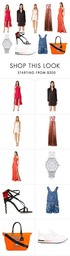 """""""Currently most powerful items"""" by donna-wang1 ❤ liked on Polyvore featuring Halston Heritage, Maria Lucia Hohan, Marc Jacobs, Dolce&Gabbana, Forte Couture, Moschino, Tory Burch and vintage"""
