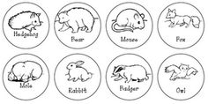 """Use the to make a picture graph of the student's favorite animal from """"The Mitten"""""""