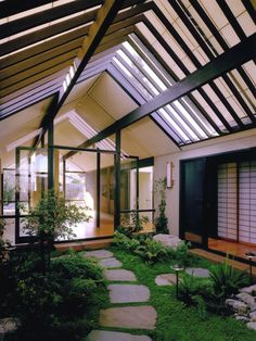 Design int rieur de maison indienne d corations du monde for Jardin japonais interieur maison