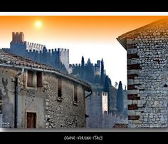 Soave's castle....Italy 2010