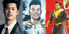 RossButler as the adult version of Eugene Choi in toy form. Captain Marvel Shazam, Gangster Films, Undercover Agent, Police Chief, Weird Pictures, Back In The Day, Detective, Thriller