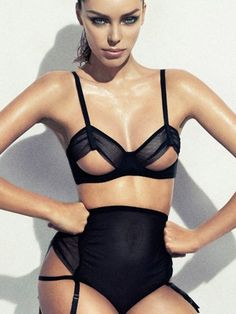 Sexy cut out lingerie. #figleaves #inspiration