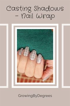 Wraps are such a good answer to nail-biting. You will notice when you subconsciously try to bite with these on your fingers and from there the choice to nibble or not is up to you. There are over 390 designs to choose from including the junior wraps for smaller fingers so you could wear a different design everyday although they will last up to 2 weeks on your fingers and 6 weeks on your toes. Nail Biting Habit, Simple Geometric Designs, Jamberry Nail Wraps, Us Nails, Fingers, It Cast