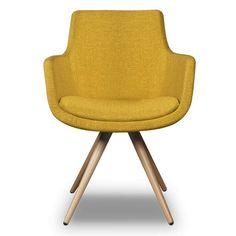 De Espen kuipstoeltjes van I-sofa zijn een echte blikvanger voor in het interieur! De eetkamerstoel heeft een kuip gemaakt van een hoogwaardige stof met leuke h