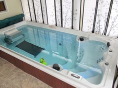 NEW 15' Endless Pools Swim Spa with Underwater Treadmill www.EndlessPools.com