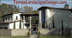 LAUREN SHINER, TAMPA LANDSCAPE DESIGN, LUTZ, FLORIDA.  MOROCCAN INSPIRED LANDSCAPE, HARDSCAPE OF GROUTED STONE, AND COURTYARD TRELLISES.