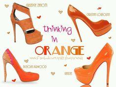 Zapatos naranja furor de verano 2013
