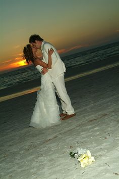 Exactly. On the beach at sunset is when I want to get married :))