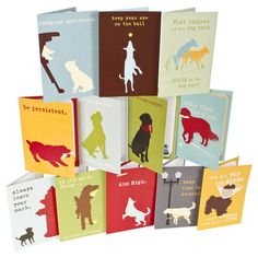 Dog is Good Greeting Card Gift Set - Set of 12 different dog greeting cards. A great neighbor gift or stocking stuffer, perfect for your dog walker, groomer, vet, or other pet enthusiast in your life.