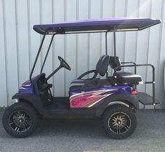 Custom Golf Carts Gallery   Golf Cars of Hickory Best Golf Cart, Custom Golf Carts, New Golf, Garage, Cars, Gallery, Romantic, Carport Garage, Roof Rack