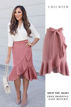 Search results for: 'ruffle Skirt' - Retro, Indie and Unique Fashion Pencil Skirt Casual, Pencil Skirt Outfits, High Waisted Pencil Skirt, Pencil Skirts, Summer Skirt Outfits, Pencil Skirt Work, Pencil Dresses, Fitted Skirt, Ruffle Skirt