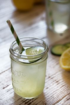 Cucumber Lemon Drop //