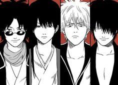 Tags: Gintama, Joui 4, Joy 4, Sakata Gintoki, Sakamoto Tatsuma, Katsura Kotaro, Takasugi Shinsuke