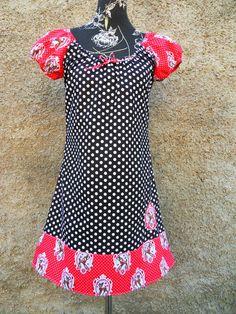 Tunika Kleid Hänger Bluse Reh Rehkitz von Zellmann Fashion auf DaWanda.com