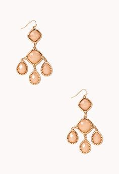 Inexpensive Chandelier earrings - check them out at @Forever 21
