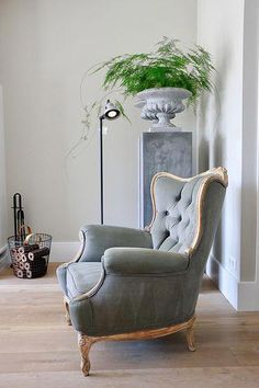 Home Decoration Tips for Decorators on the Budget Living Room Chairs, Decor, Interior Trend, Furniture, Classy Furniture, Chair, Interior, Wingback Chair, Home Decor