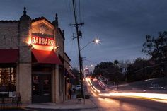 Barbaro - PIZZA! and good drinks in a casual restaurant. Thin crust pizza with interesting toppings. Great cobb salad