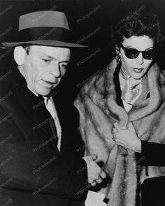 Frank Sinatra With 2nd Wife Actress Ava Gardner