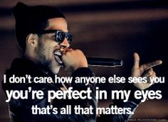 perfect in my eyes