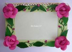 Paper Crafts: DIY Photoframe