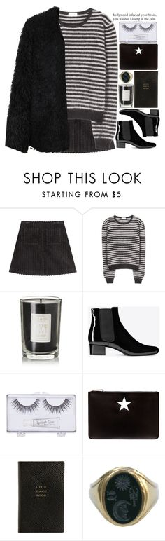 """""""BW"""" by doga1 ❤ liked on Polyvore featuring мода, Isa Arfen, Yves Saint Laurent, Coqui Coqui, Sonia Kashuk, Givenchy, Smythson, Kieselstein-Cord, LE3NO и women's clothing"""
