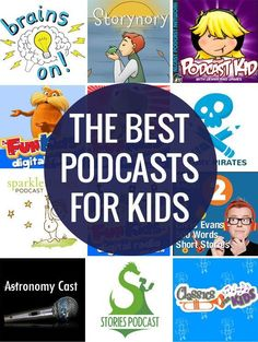 Podcasts are great because you get a new episode every week, or month, so there is always something new to listen to. Plus they cover such a broad range of topics and interests so you can find something for everyone. They are a great way to build on your child's interests and expose them to different ideas and topics for loads of learning opportunities. Plus they are just plain fun!