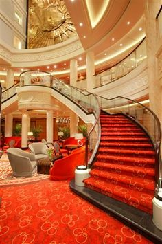 Cruise Ships Interior Decor | Malcolm Oliver's Cruise Blog