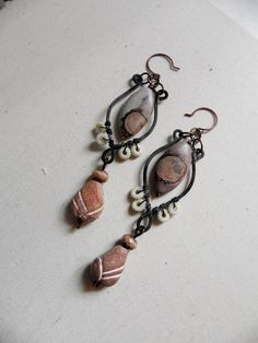 RESERVED  The clay serpent Crazy horse jasper by CorvidDelights, $46.00
