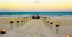 Maroma Resort And Spa in Playa Del Carmen, Mexico - EXACTLY WHAT I NEED A PRIVATE DINNER ON THE BEACH!