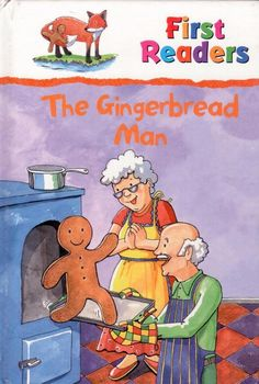 The Gingerbread Man - First Readers - Early Reader - Hardcover - S/Hand