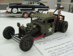 Military Rat Rod.