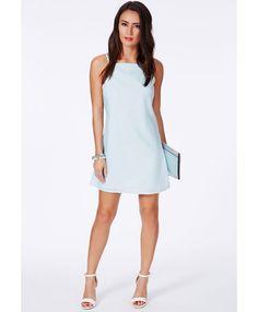 Odeta Strappy Mini Shift Dress - Dresses - Shift Dresses - Missguided