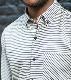 Casual Shirt in Japanese Cotton // Freemans Sporting Club #menswear
