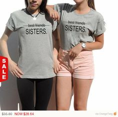 Hey, I found this really awesome Etsy listing at https://www.etsy.com/il-en/listing/220925851/sale-2-matching-best-friend-t-shirts-bff