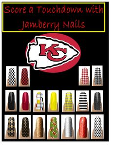 Get ready for some Football! NFL Kansas City Chiefs fans don't forget those nails to show your pride!