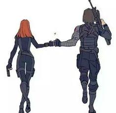 Black widow & The winter soldier