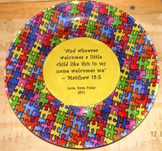 Autism - Quick, easy & inexpensive gift for my son's therapist!