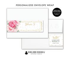 Make It Printable Patterned Envelope Address Labels  Envelope