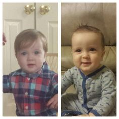 From cute to handsome: Baby's first haircut.
