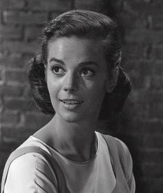 Trial 1 for Maria's hair in West Side Story, Natalie Wood as Maria