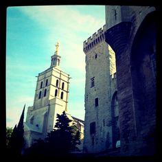 Le Palais des papes (Avignon-France)