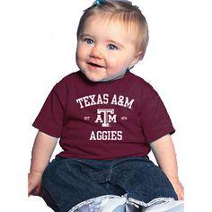 Texas A&M Aggies NCAA Maroon Infant T-shirt