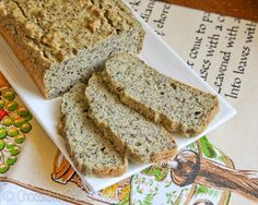 Omega-3 Protein Bread using #PeaProtein #Protein #VitaminShoppe