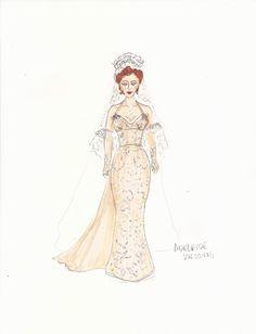 Guys and Dolls (Adelaide - wedding). Goodspeed Musicals. Costume design by Tracy Christensen. 2015