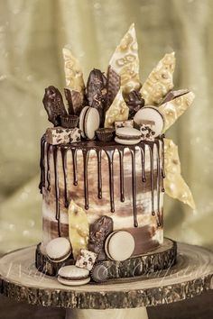 This drip cake is a chocolate lover's dream come true   With Love & Confection