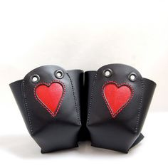 Show your roller derby mom how much you love her and her skates this year for Mother's Day! On sale now in my shop: https://www.etsy.com/listing/150527424/leather-skate-toe-guards-with-red-inlaid?