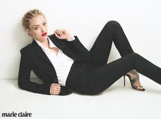 Amanda Seyfried for Marie Claire UK August 2015